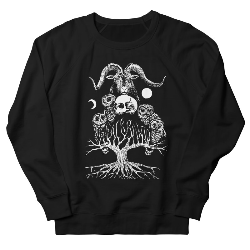 The Horned One's Messengers Women's French Terry Sweatshirt by Black Banjo Arts