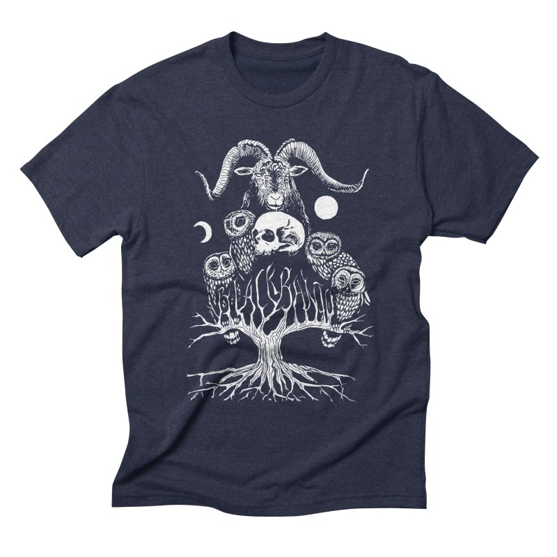 The Horned One's Messengers Men's T-Shirt by Black Banjo Arts