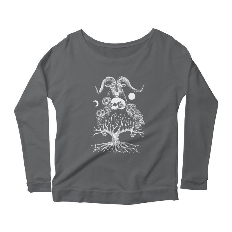 The Horned One's Messengers Women's Scoop Neck Longsleeve T-Shirt by Black Banjo Arts