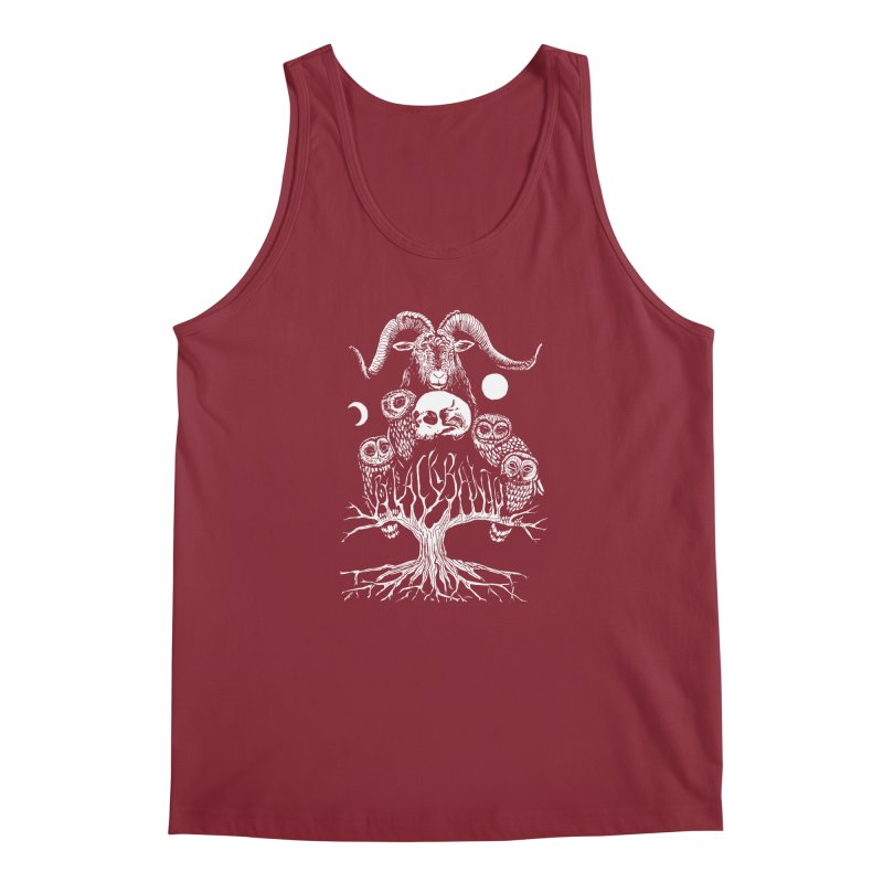 The Horned One's Messengers Men's Tank by Black Banjo Arts