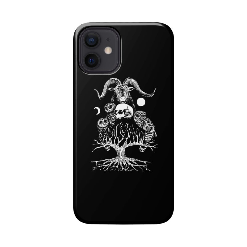 The Horned One's Messengers Accessories Phone Case by Black Banjo Arts