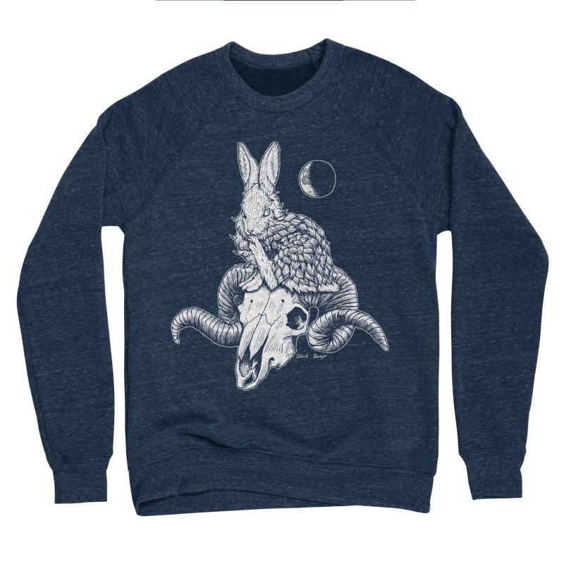 Rabbit & Ram Women's Sponge Fleece Sweatshirt by Black Banjo Arts