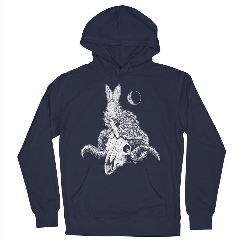 Rabbit & Ram Men's Pullover Hoody by Black Banjo Arts