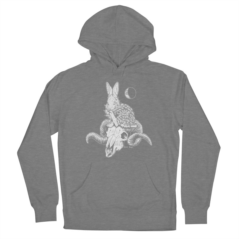 Rabbit & Ram Women's Pullover Hoody by Black Banjo Arts