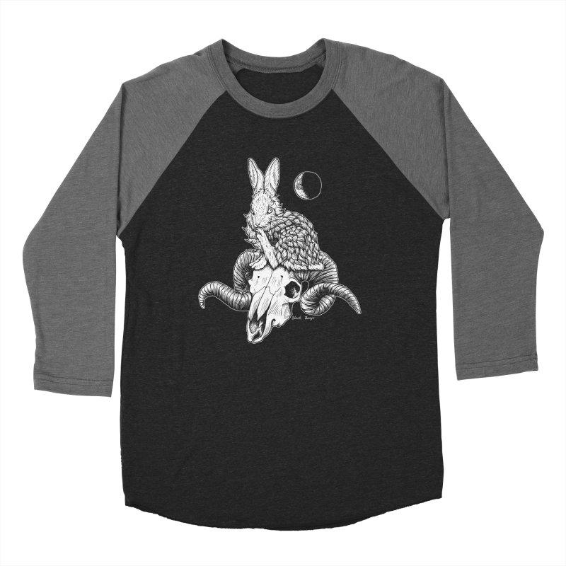 Rabbit & Ram Women's Longsleeve T-Shirt by Black Banjo Arts