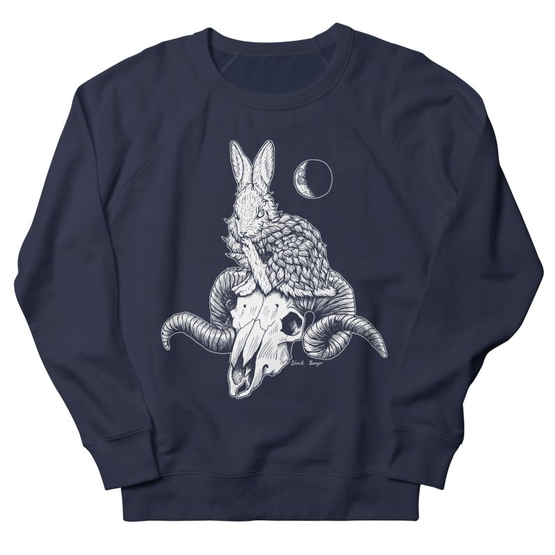 Rabbit & Ram Women's French Terry Sweatshirt by Black Banjo Arts