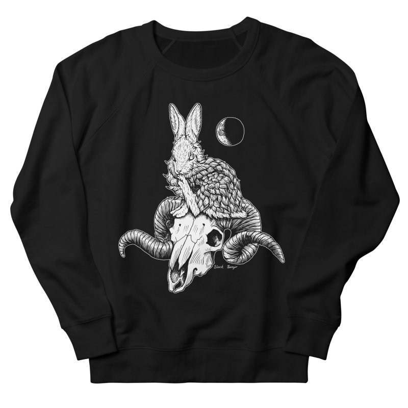 Rabbit & Ram Men's French Terry Sweatshirt by Black Banjo Arts