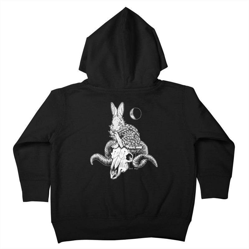 Rabbit & Ram Kids Toddler Zip-Up Hoody by Black Banjo Arts
