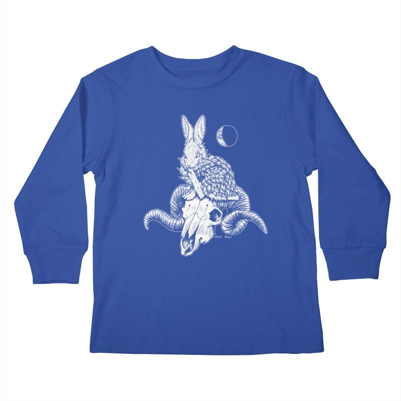 Rabbit & Ram Kids Longsleeve T-Shirt by Black Banjo Arts