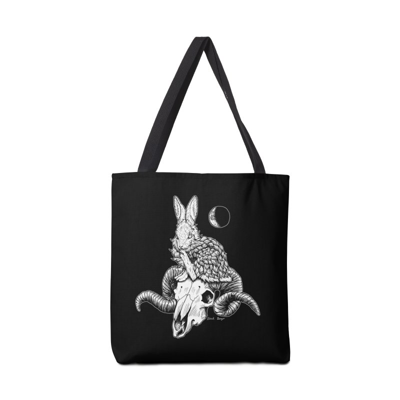 Rabbit & Ram Accessories Tote Bag Bag by Black Banjo Arts