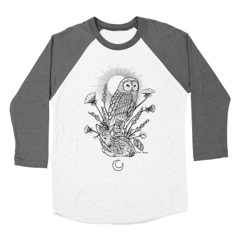 Owl & Fawn Women's Longsleeve T-Shirt by Black Banjo Arts