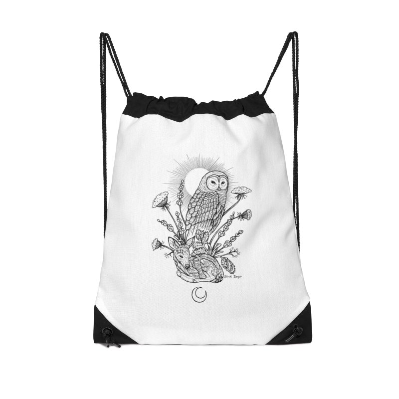 Owl & Fawn Accessories Bag by Black Banjo Arts