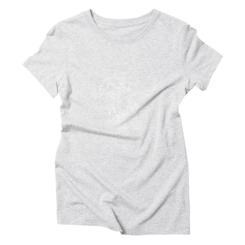 The Celestial Goat Women's Triblend T-Shirt by Black Banjo Arts
