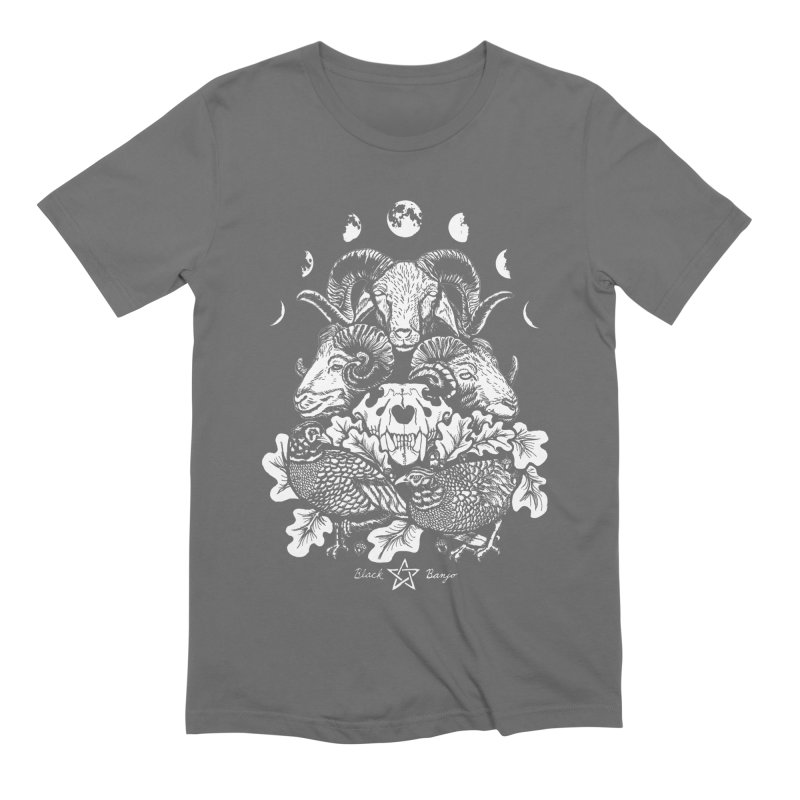 The Ram and The Oak Men's T-Shirt by Black Banjo Arts