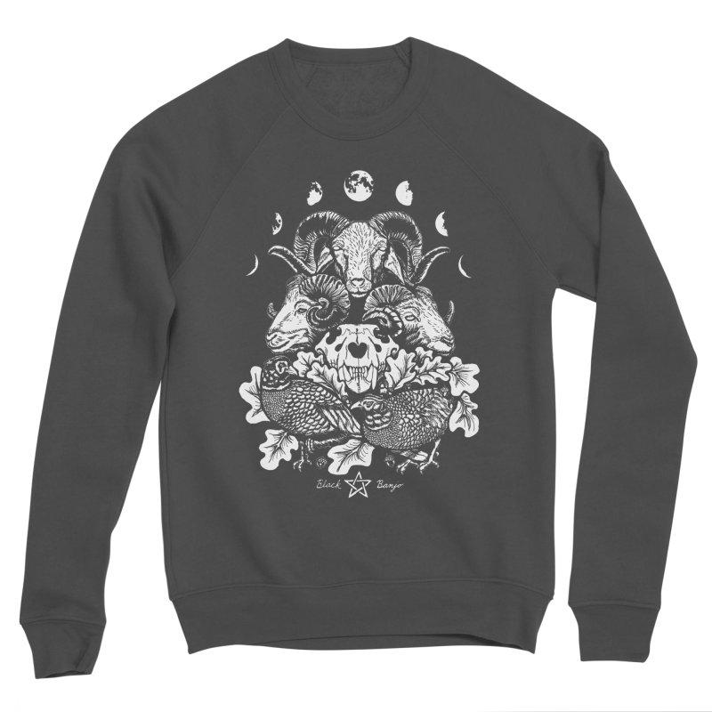 The Ram and The Oak Women's Sponge Fleece Sweatshirt by Black Banjo Arts