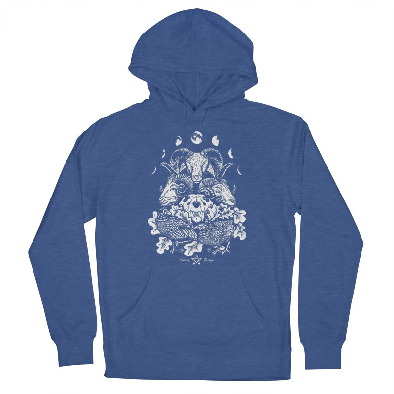 The Ram and The Oak Women's Pullover Hoody by Black Banjo Arts