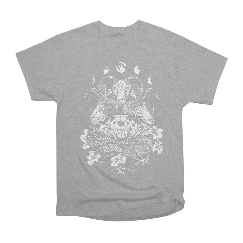 The Ram and The Oak Men's Heavyweight T-Shirt by Black Banjo Arts