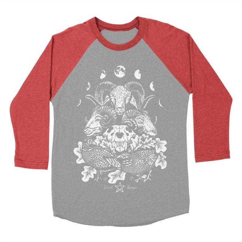 The Ram and The Oak Men's Longsleeve T-Shirt by Black Banjo Arts