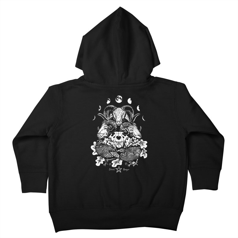 The Ram and The Oak Kids Toddler Zip-Up Hoody by Black Banjo Arts