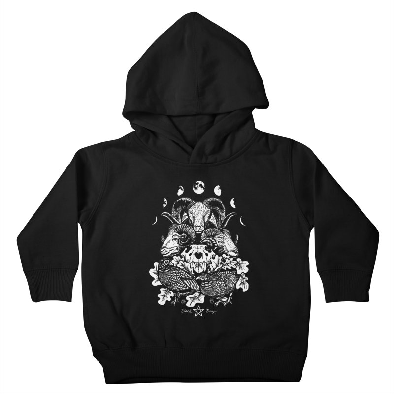 The Ram and The Oak Kids Toddler Pullover Hoody by Black Banjo Arts