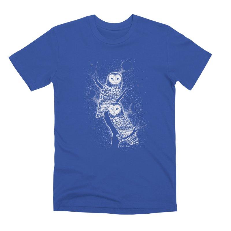 The Witch Owls Men's Premium T-Shirt by Black Banjo Arts