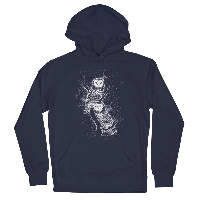 The Witch Owls Men's Pullover Hoody by Black Banjo Arts