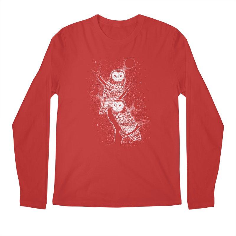 The Witch Owls Men's Longsleeve T-Shirt by Black Banjo Arts