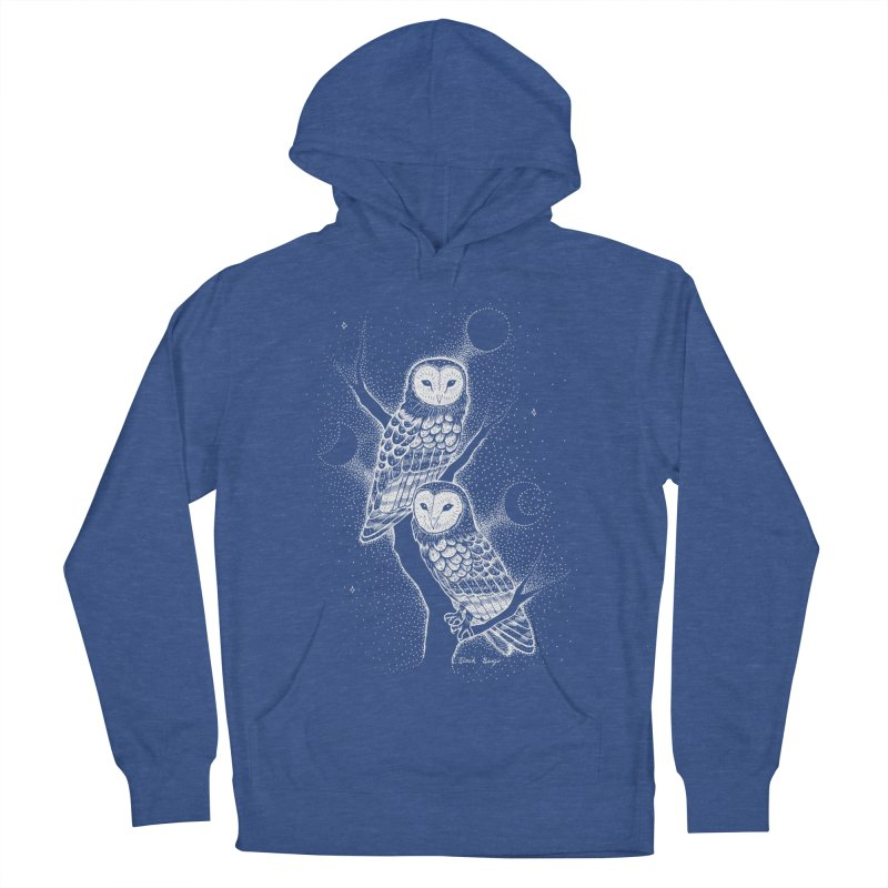 The Witch Owls Women's Pullover Hoody by Black Banjo Arts