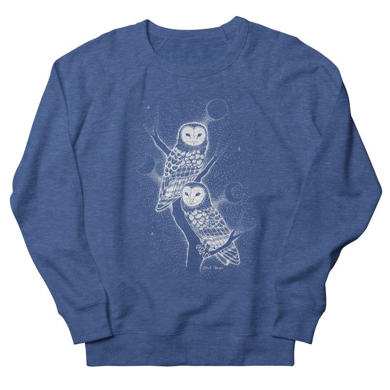 The Witch Owls Women's Sweatshirt by Black Banjo Arts