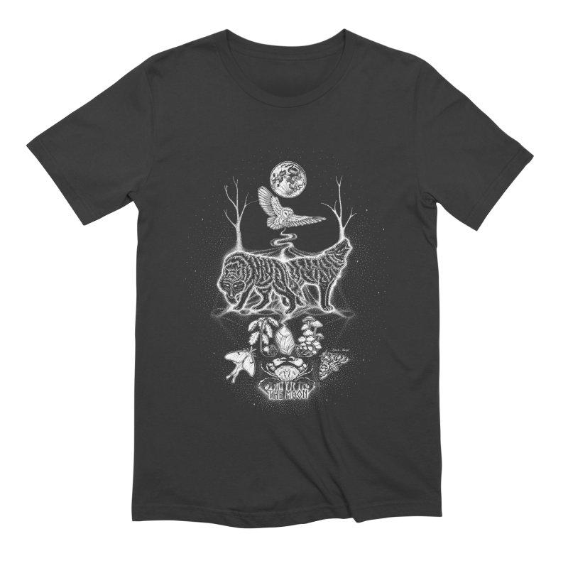 The Moon XVIII Men's Extra Soft T-Shirt by Black Banjo Arts