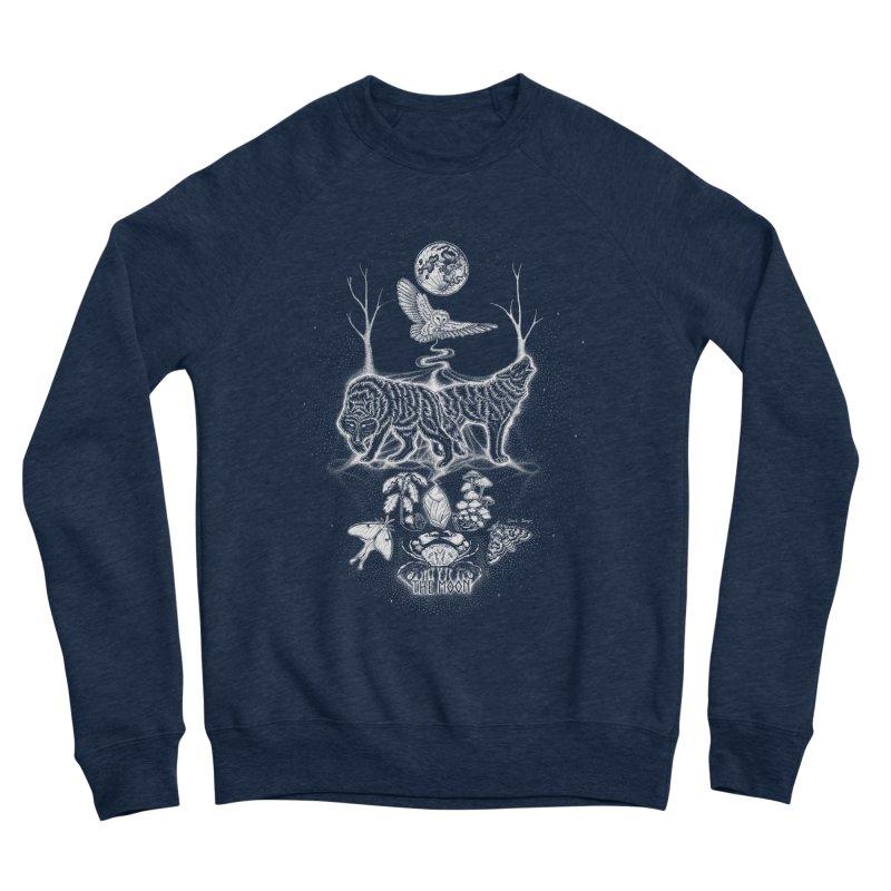 The Moon XVIII Men's Sweatshirt by Black Banjo Arts
