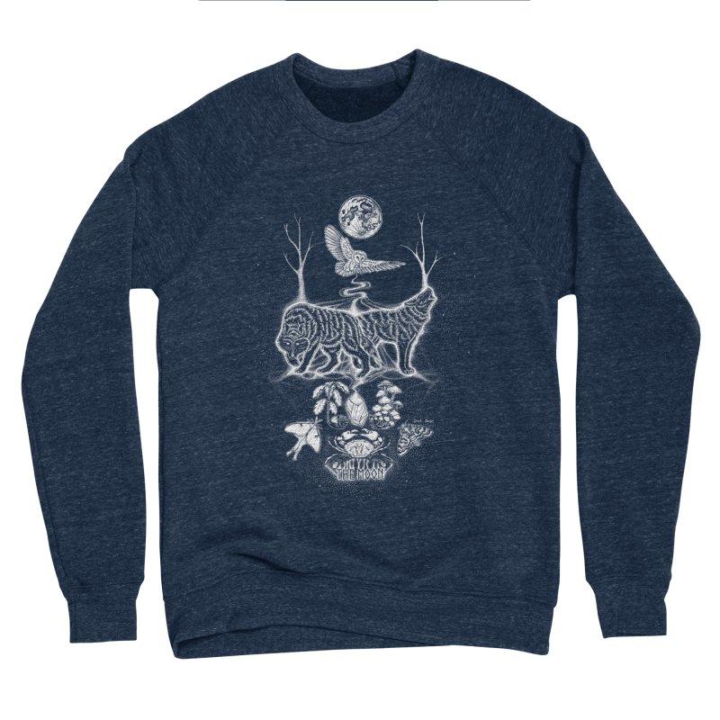 The Moon XVIII Women's Sponge Fleece Sweatshirt by Black Banjo Arts