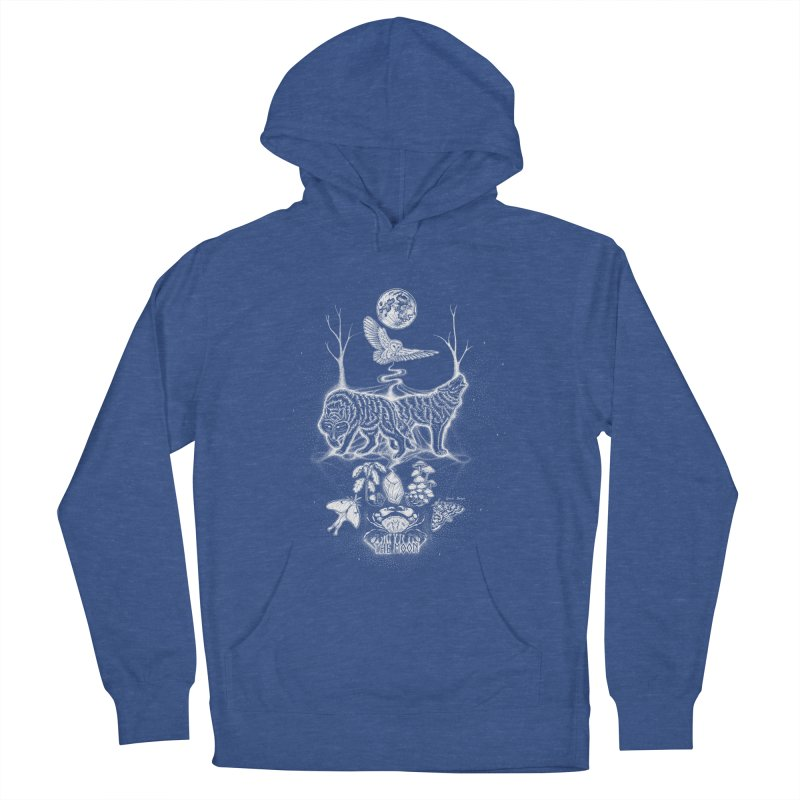 The Moon XVIII Women's Pullover Hoody by Black Banjo Arts