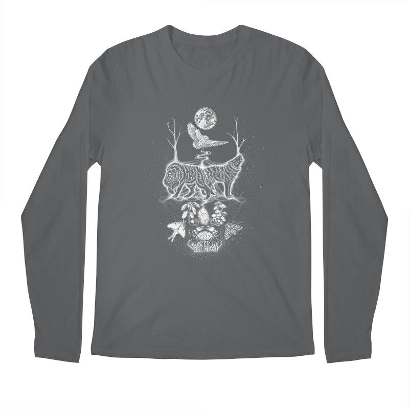 The Moon XVIII Men's Longsleeve T-Shirt by Black Banjo Arts