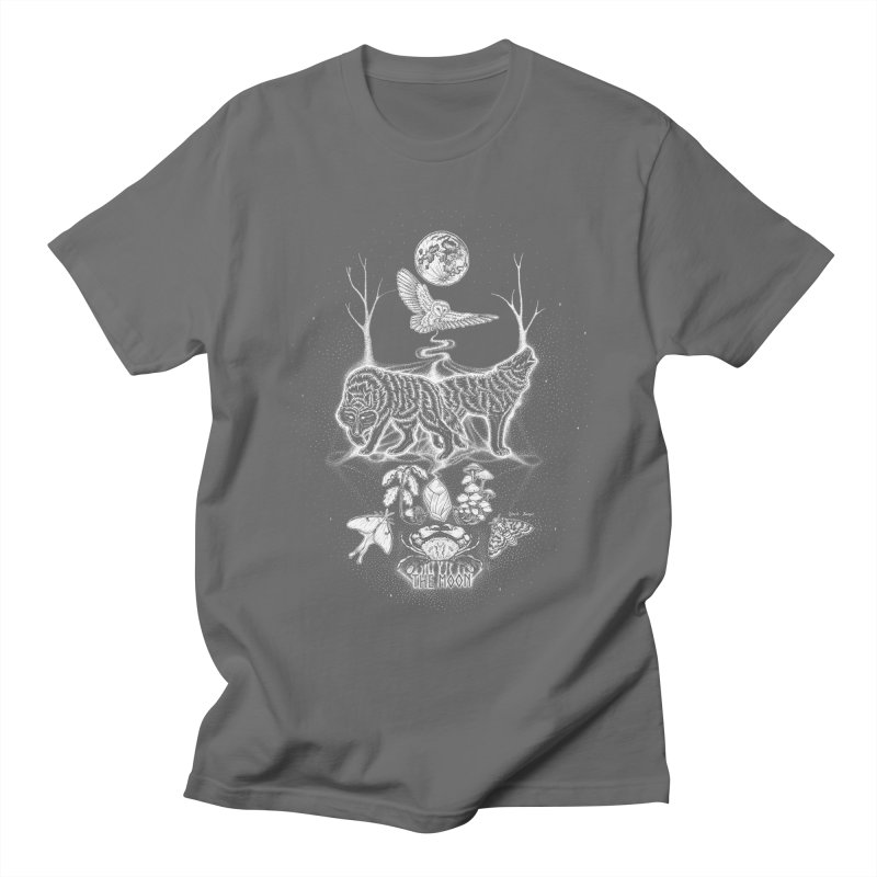 The Moon XVIII Men's T-Shirt by Black Banjo Arts