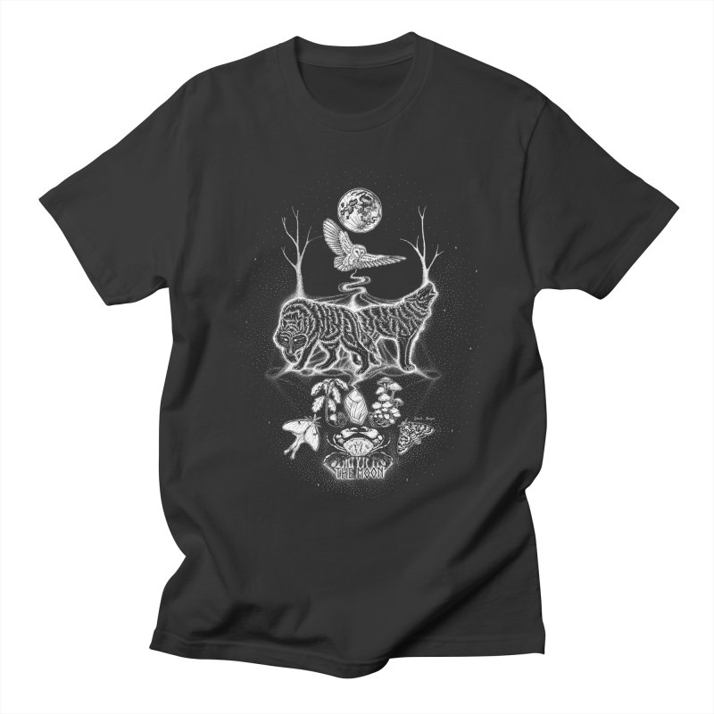 The Moon XVIII Women's Regular Unisex T-Shirt by Black Banjo Arts