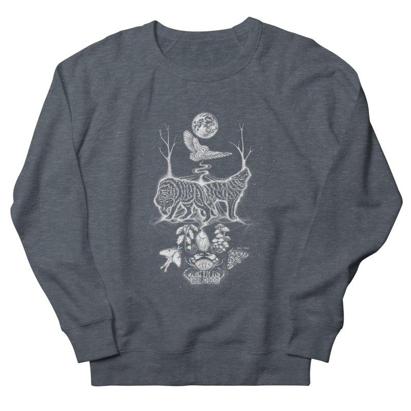 The Moon XVIII Women's French Terry Sweatshirt by Black Banjo Arts