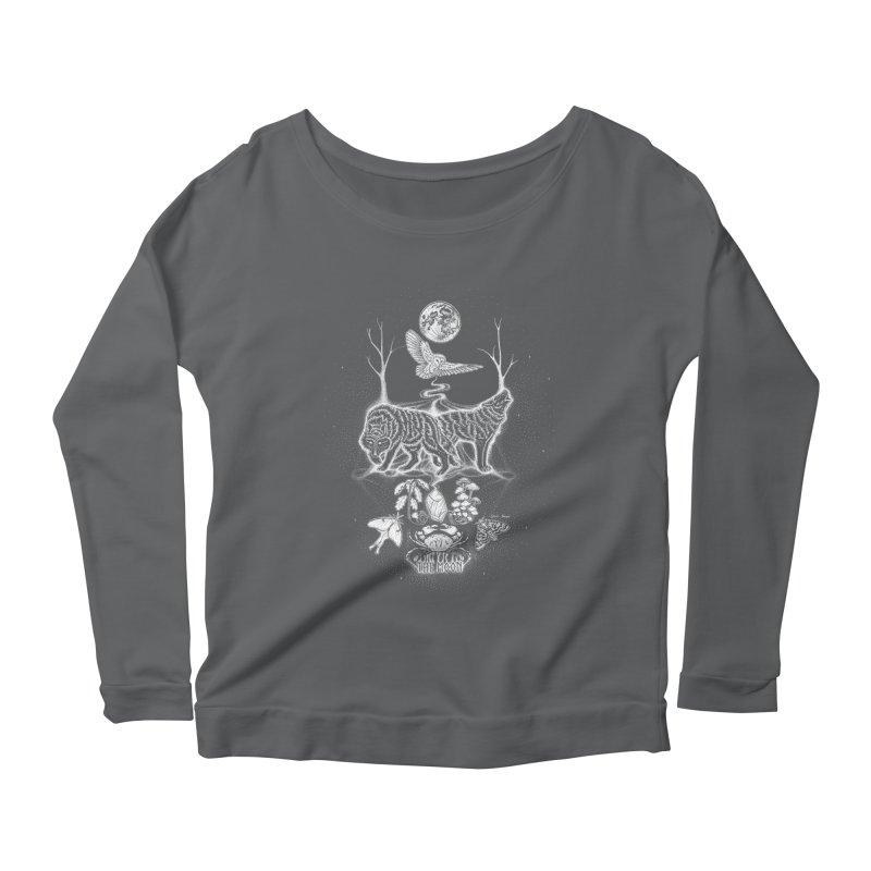 The Moon XVIII Women's Longsleeve T-Shirt by Black Banjo Arts