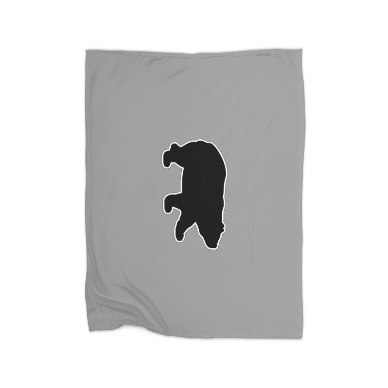 Black Bear Home Fleece Blanket Blanket by Black Bear Apparel