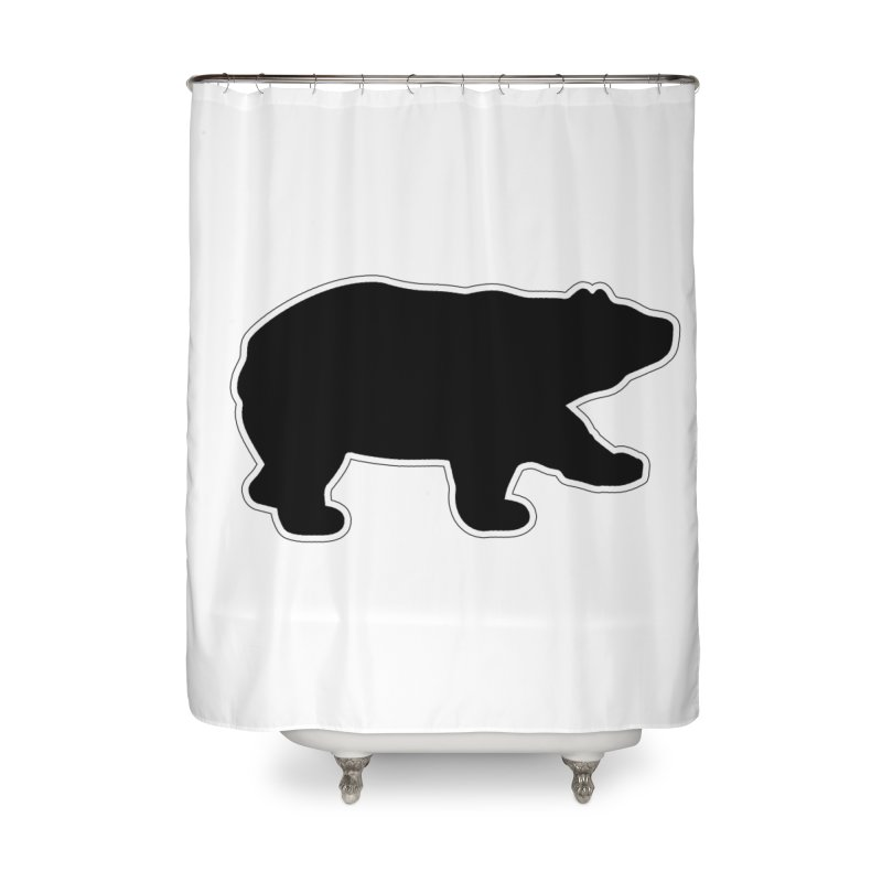 Black Bear Home Shower Curtain by Black Bear Apparel
