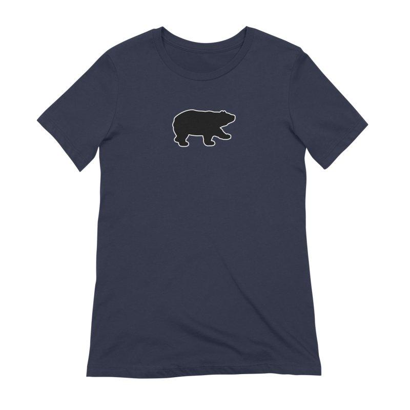 Black Bear Women's Extra Soft T-Shirt by Black Bear Apparel