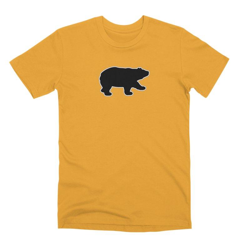 Black Bear Men's Premium T-Shirt by Black Bear Apparel