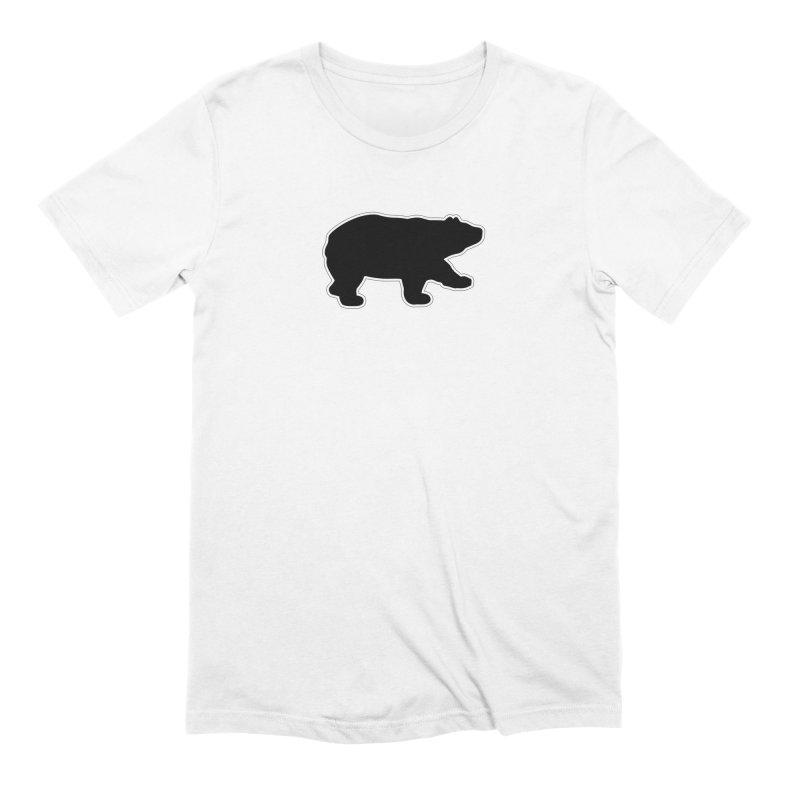 Black Bear Men's Extra Soft T-Shirt by Black Bear Apparel