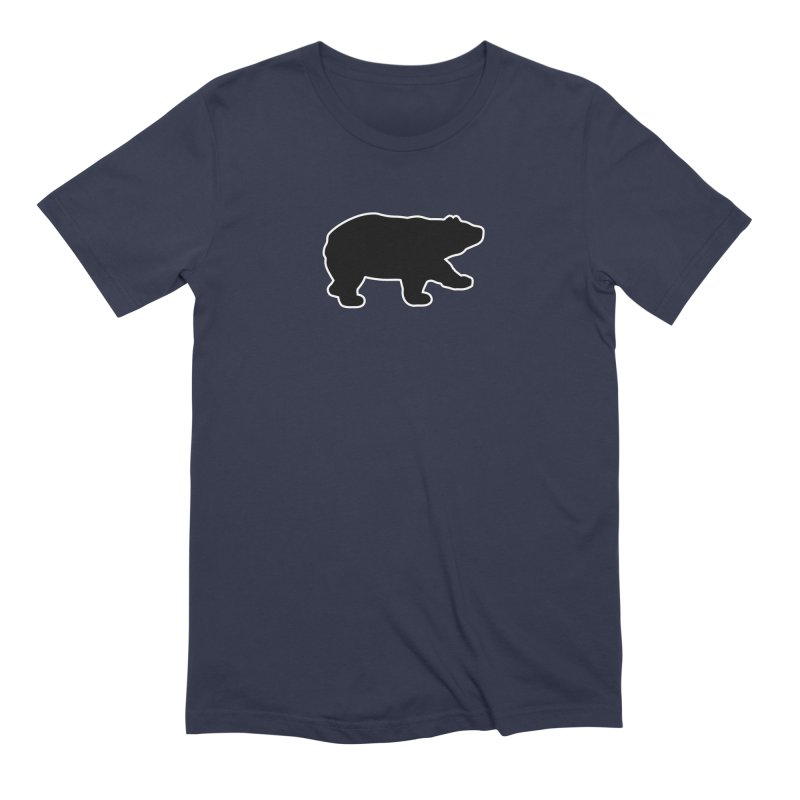 Black Bear Men's Extra Soft T-Shirt by Black Bear Apparel