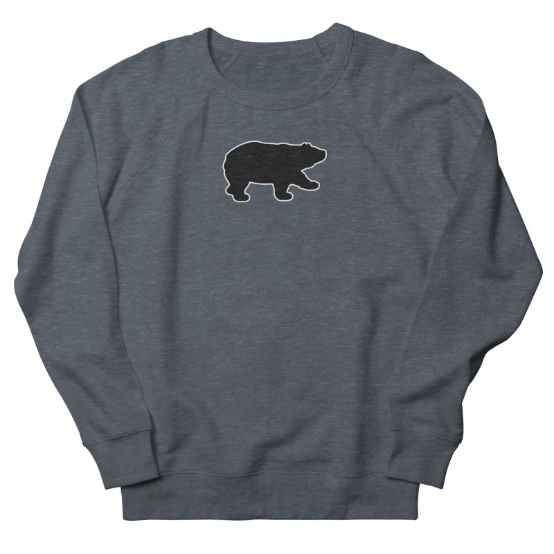 Black Bear Women's French Terry Sweatshirt by Black Bear Apparel