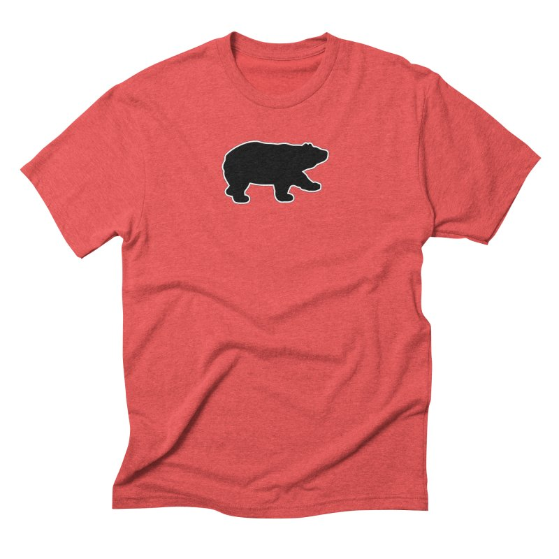 Black Bear Men's Triblend T-Shirt by Black Bear Apparel