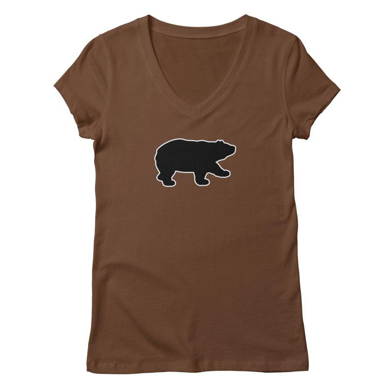 Black Bear Women's Regular V-Neck by Black Bear Apparel
