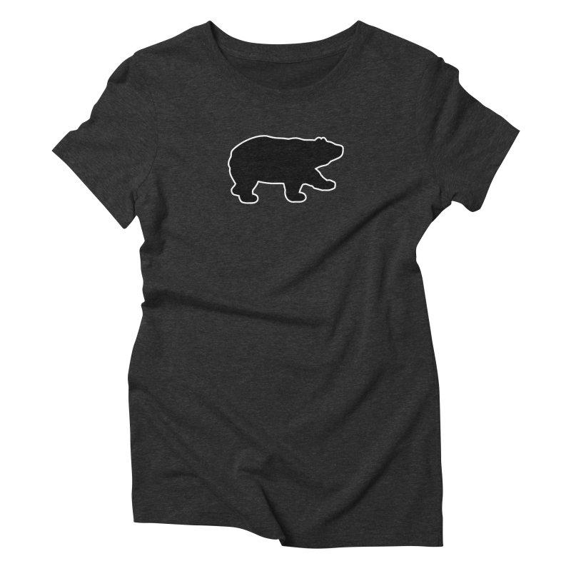 Black Bear Women's Triblend T-Shirt by Black Bear Apparel