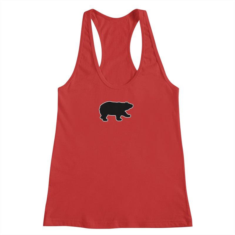 Black Bear Women's Racerback Tank by Black Bear Apparel