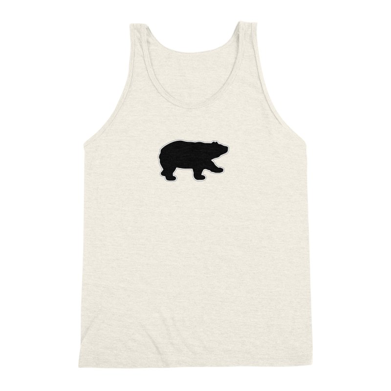 Black Bear Men's Triblend Tank by Black Bear Apparel